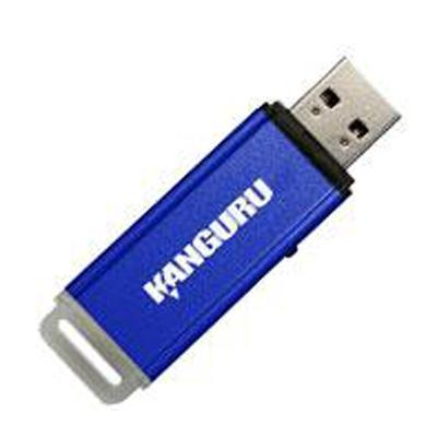 Kanguru Solutions Flashblu II 8GB USB 2.0 Solid State NAND Flash Memory Drive