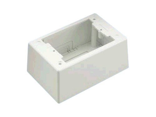 "Panduit RACEWAY JUNCTION BOX SGL GANG 5.05""LX3."