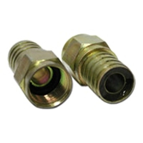 Cables To Go Hex Crimp F-Type Connector for RG6 QUAD - antenna connector