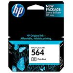HP Inc. 564 Photo Black Ink Cartridge CB317WN#140