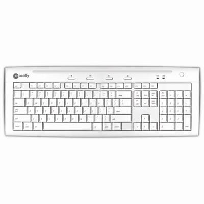 MacAlly Peripherals iKeySlim Hi-Speed USB2.0 Slim Keyboard (IKEY5U2)