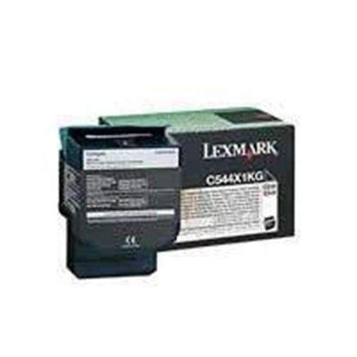 Lexmark Extra High Yield - black - original - toner cartridge