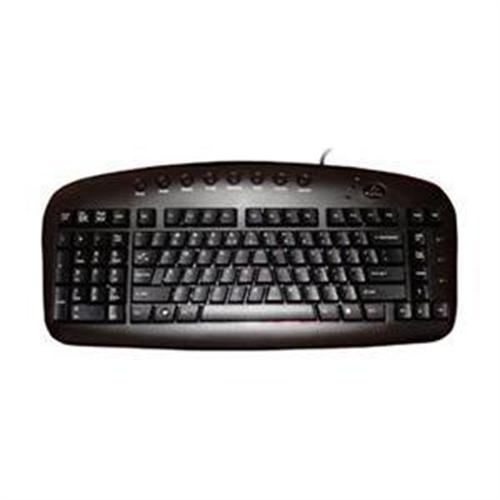 Ergoguys Left Handed Keyboard Wired - Black