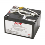 APC Replacement Battery Cartridge #109 - UPS battery - 1 x lead acid  - charcoal - for P/N: BN1250LCD, BR1200LCDI, BR1500LCDI, BX1300LCD, BX1500LCD APCRBC109