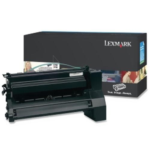 Lexmark C782 XL, X782e XL Black XL Extra High Yield Return Program Print Cartridge