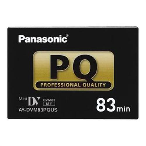 Panasonic AY DVM83PQUS Professional Quality - Mini DV tape 83min