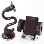 Bracketron Mobile Grip-iT Windshield Mount Cellular Phone Holder For Car PHW-203-BL