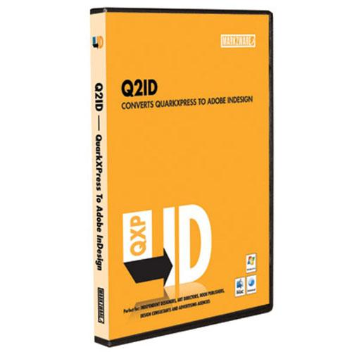 Markzware Q2ID v4 (Quark to InDesign CS3/4) Upgrade v2-v3 to 4 - 10 User license - ESD - Windows