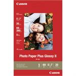 "Canon 5"" x 7"" Photo Paper Plus Glossy II 20 Sheets 2311B024"