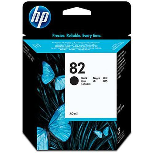 HP 82 - black - original - ink cartridge