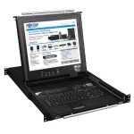 TrippLite NetDirector 16-Port 1U Rack-Mount Console KVM Switch with 17-in. LCD and IP Remote Access B020-016-17-IP