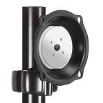 "JPP210B - Mounting kit ( tilt/pivot pole mount ) for LCD display - black - screen size: 26"" - 45"""