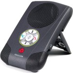Polycom CX100 Speakerphone - USB VoIP desktop hands-free - charcoal gray 2200-44240-001