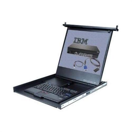 IBM Flat-Panel Monitor Console Kit with Multi-Burner Drive - KVM console - 19""