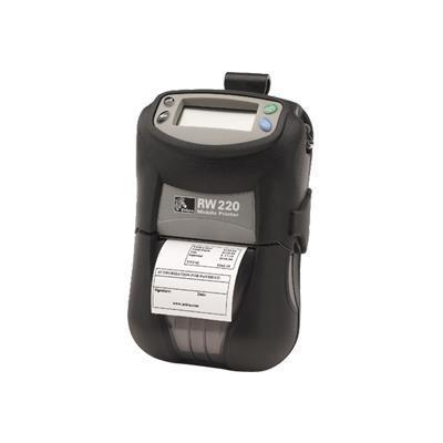 Zebra TechRW 220 Monochrome Direct Thermal Label Printer - Serial, USB, Bluetooth(R2D-0UBA010N-00)