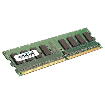 Crucial 2GB, 240-pin DIMM, DDR2 PC2-5300 memory module (CT25672AA667)