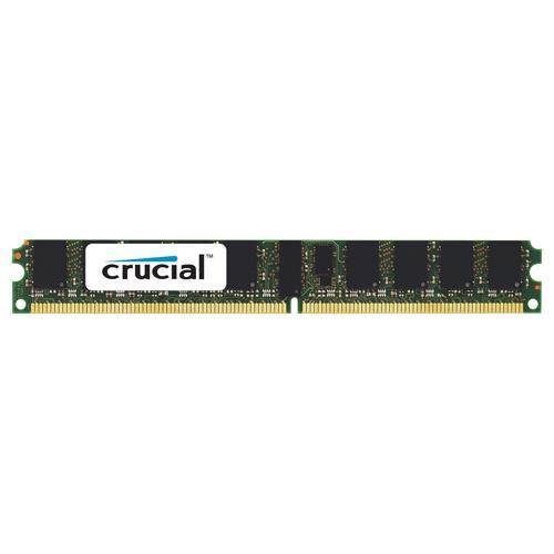 Crucial 4GB, 240-pin DIMM, DDR2 PC2-5300 memory module