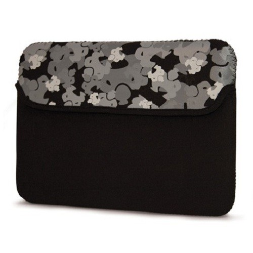 "Mobile Edge Sumo Camo Sleeve for iPad and 8.9"" Netbooks - Black"