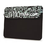 "10"" Sumo Graffiti Netbook Sleeve - Black"