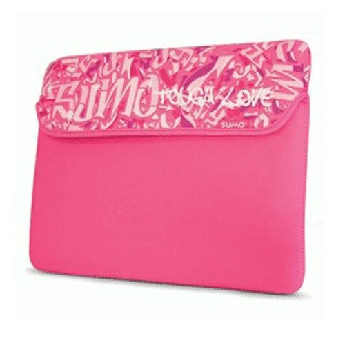 "Mobile Edge 10"" Sumo Graffiti Netbook Sleeve - Pink"