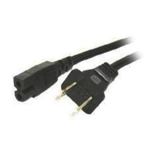 Cables To Go 2-Slot Polarized - power cable - 6 ft