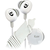 jWIN Electronics iLuv iEP311 in-ear ear-bud Headphones  - White