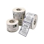 Z-Select 4000D Removable - Labels - paper - removable acrylic adhesive - coated - perforated - bright white - 2.374 in x 1 in 13560 label(s) (6 roll(s) x 2260) - for TLP 28XX; Desktop GX420, GX430, LP 2844; G-Series GC420, GK420, GX420; H 2824; TLP 28XX