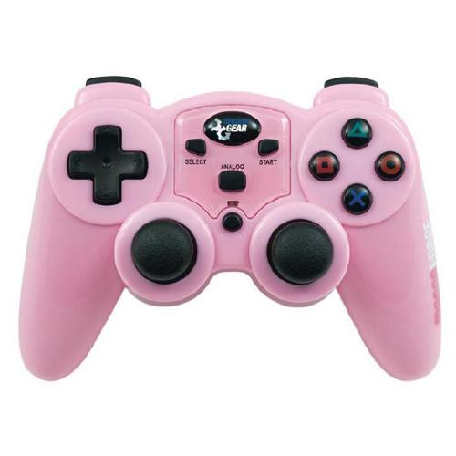 dreamGEAR Magna Force 2.4Ghz RF Wireless Controller without Rumble for PS2 - Pink
