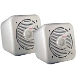 6.5'' 200 Watt Two-Way Shielded Marine Water Proof Speakers - Pair