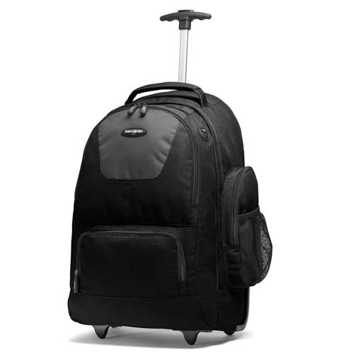 Samsonite BACKPACK WHEELED NYLON-BLK 3YR WTY