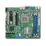 SUPERMICRO X7SLM-L - Motherboard - micro ATX - LGA775 Socket - i945GC - 2 x Gigabit LAN - onboard graphics