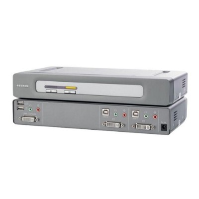 BelkinOmniView Secure DVI-D Dual-Link 2-Port KVM Switch(F1DN102D)
