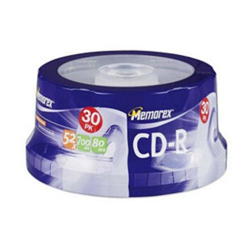Imation 30PK MEMOREX CDR 700MB-80MIN 52X SPINDL