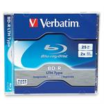BD-R LTH Type - 25 GB ( 120min ) 2x - jewel case