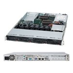 "Supermicro SuperServer 6016T-NTF - Server - rack-mountable - 1U - 2-way - RAM 0 MB - SATA - hot-swap 3.5"" - no HDD - DVD - MGA G200e - GigE - monitor: none"