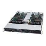 Supermicro SuperServer 6016TT-IBXF - 2 nodes - cluster - rack-mountable - 1U - 2-way - RAM 0 MB - no HDD - MGA G200eW - GigE, InfiniBand - monitor: none
