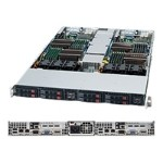 Supermicro SuperServer 1026TT-IBXF - 2 nodes - cluster - rack-mountable - 1U - 2-way - RAM 0 MB - no HDD - MGA G200eW - GigE - monitor: none