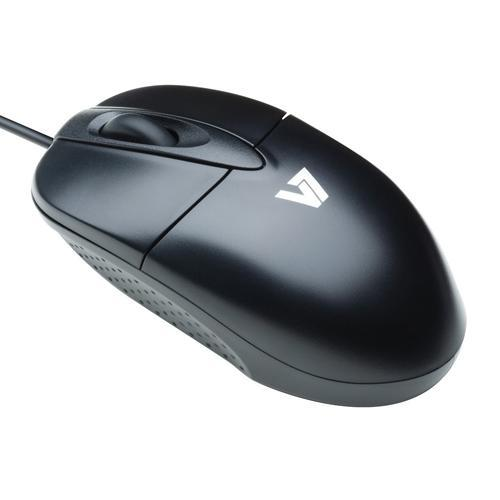 V7 Optical USB Mouse - Black