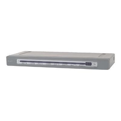 BelkinOmniView SMB CAT5 KVM Switch - KVM switch - 16 ports - desktop - B2B - with 16x OmniView SMB Server Interface Module USB(F1DP116A-BU)