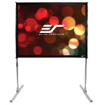 "72"" Quickstand Folding Series Projection Screen"