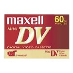 Mini DV DVM-60 - Mini DV tape - 1 x 60min