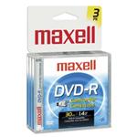 Camcorder - 3 x DVD-R (8cm) - 1.4 GB - jewel case