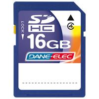  Dane-Elec 16GB High Speed Secure Digital (SD) Card