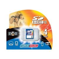 Dane-Elec 4GB High Speed Secure Digital (SD) Flash Memory Card