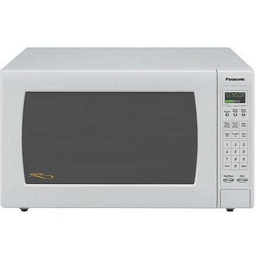 Panasonic Luxury Full-Size 2.2 cu. ft. Countertop Microwave Oven with Inverter Technology - White