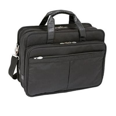 Mcklein CompanyNylon Expandable Double Compartment Laptop Case - Black(73985)