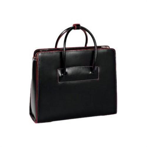 Mcklein Company Lake Forest Leather Ladies' Briefcase - Black