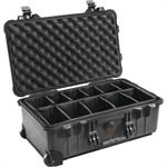 1510 Hard Case with Dividers - Black