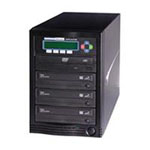 DVD Duplicator 1 to 3 Target - Disk duplicator - DVD±RW (±R DL) x 3, DVD-ROM x 1 - max drives: 4 - 24x - USB 2.0 - external