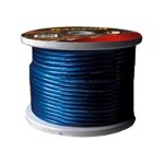 Raptor Battery cable - Bulk power cable - bare wire to bare wire - 100 ft - blue
